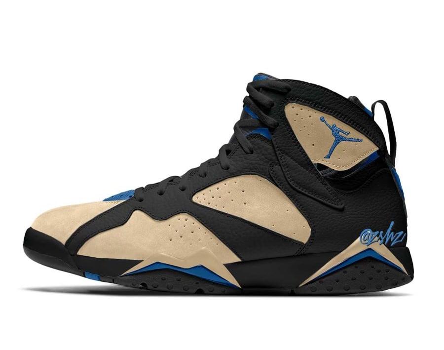 Air Jordan 7 Shimmer Black Sapphire DJ2636-204 Release Date Info