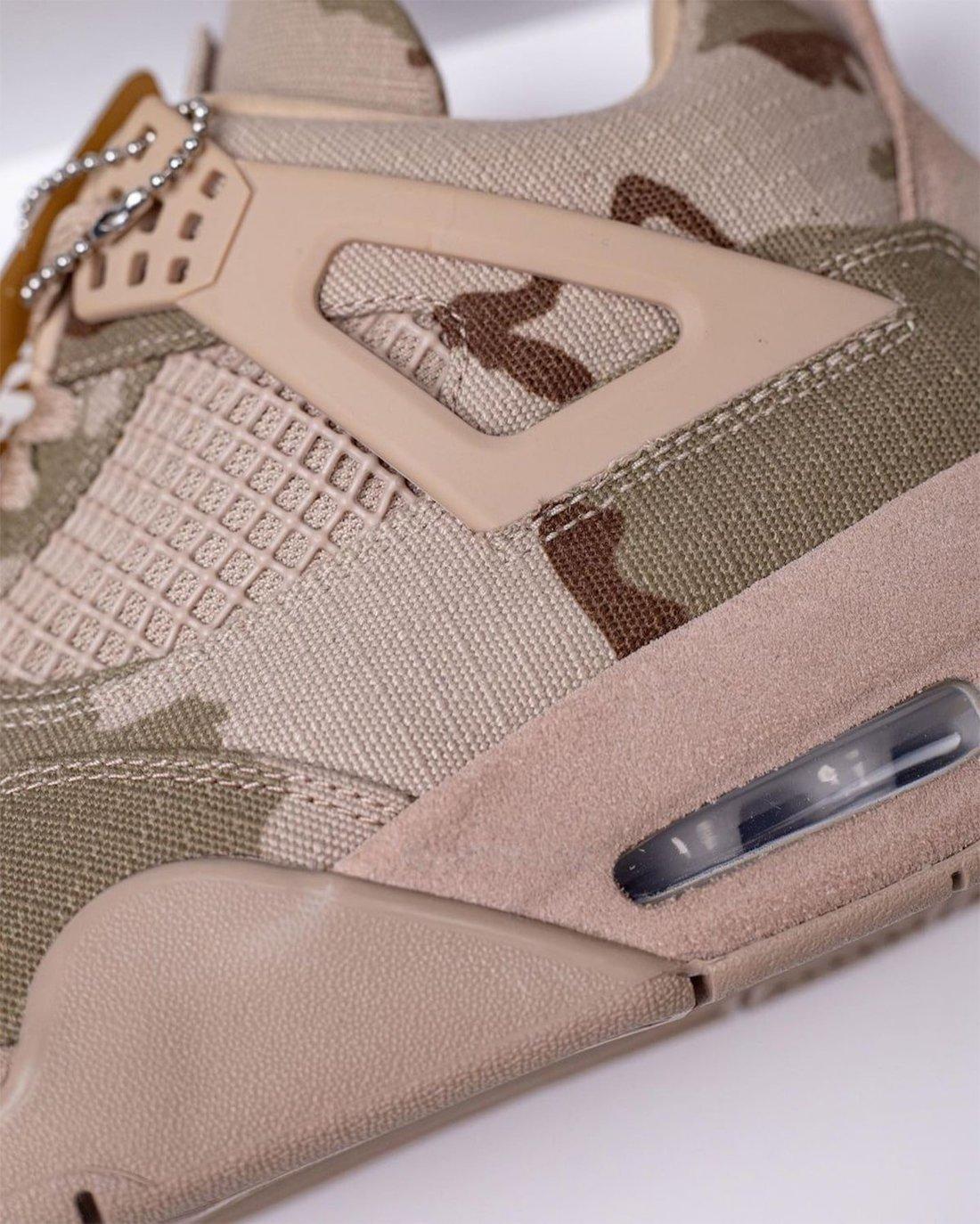 Aleali May Air Jordan 4 Camo Veterans Day DJ1193-200