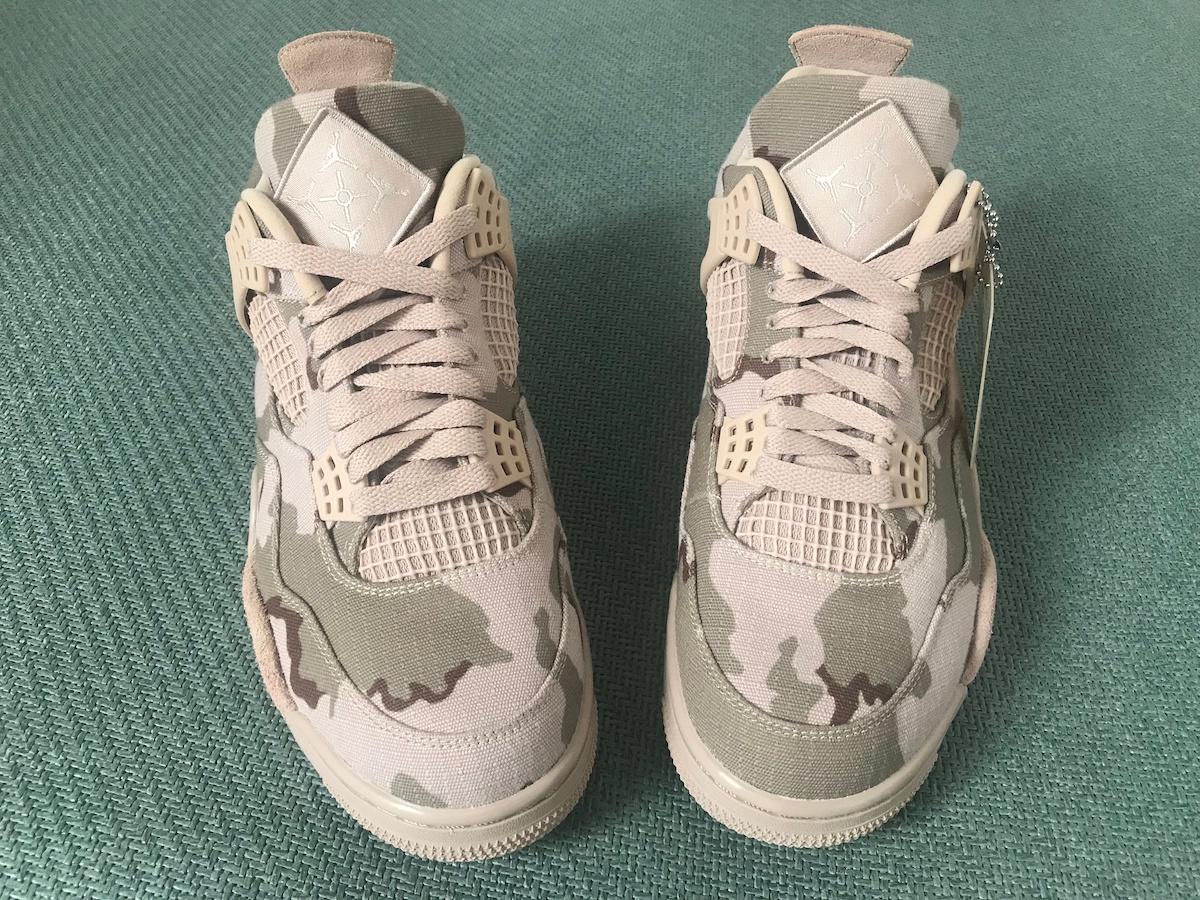 Aleali May Air Jordan 4 Veterans Day Camo DJ1193-200 Release Info