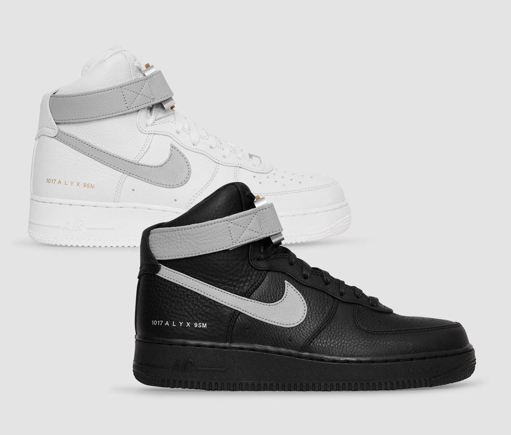 Alyx Nike Air Force 1 High CQ4018-003 CQ4018-104 Release Date Info