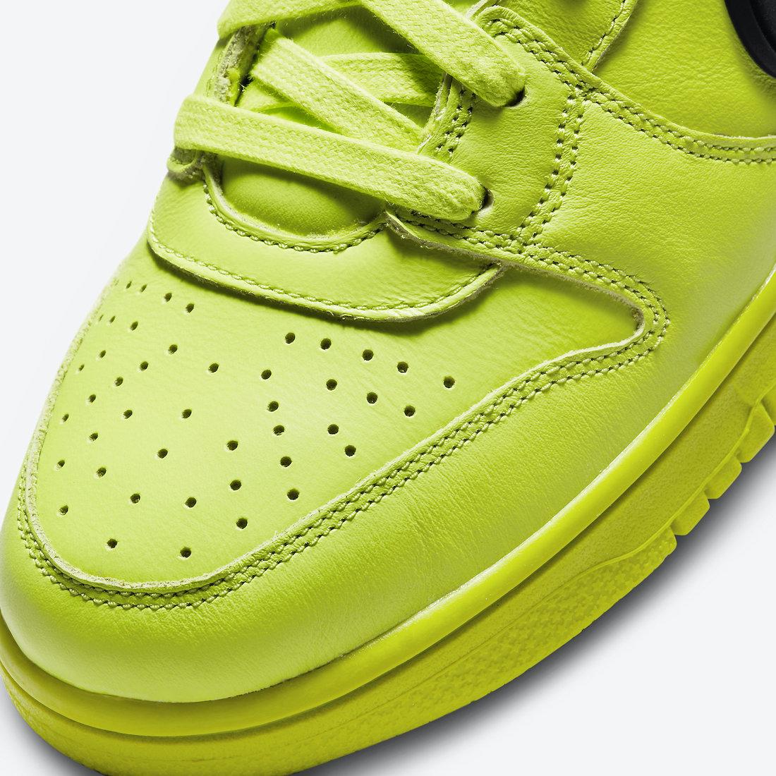 Ambush black grey nike shoes blue swoosh boots for women Flash Lime CU7544-300 Release Date