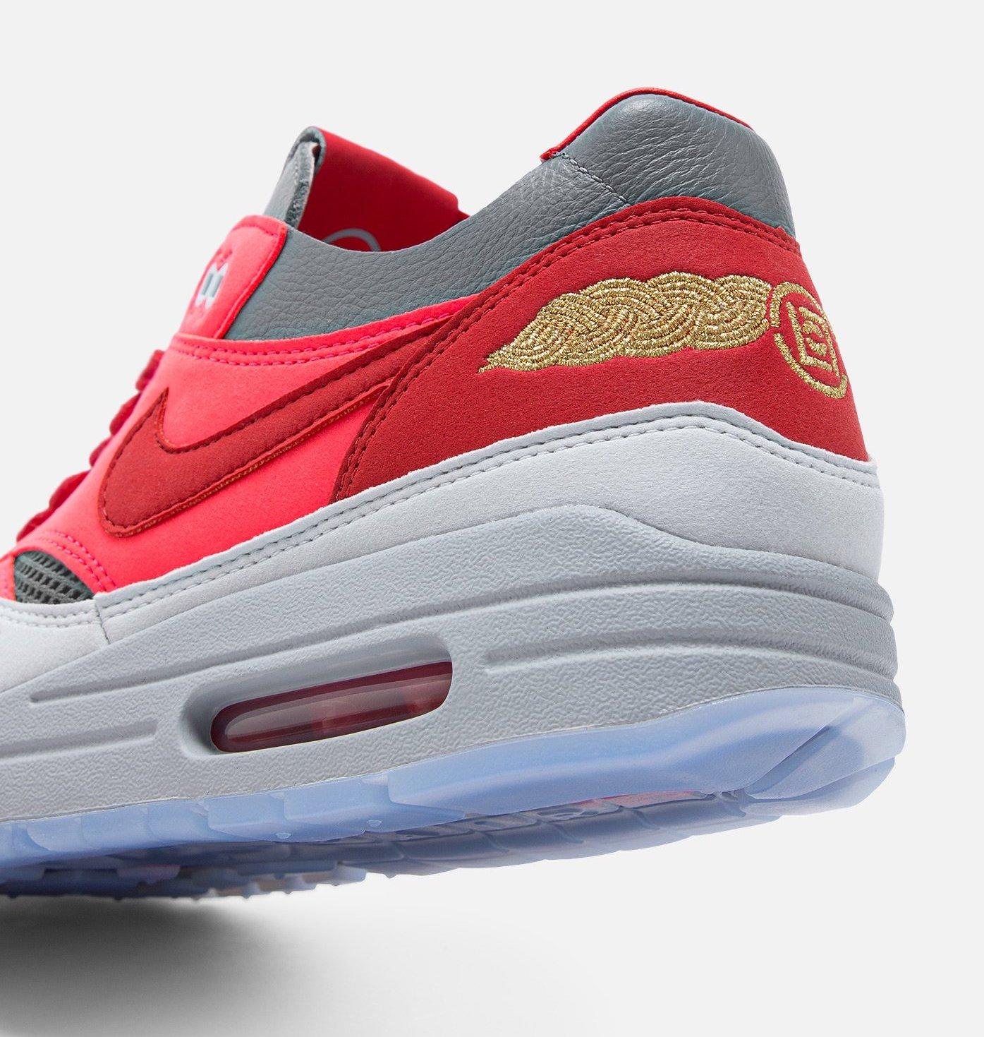 CLOT x Nike Air Max 1 K.O.D. Solar Red DD1870-600 Release Date
