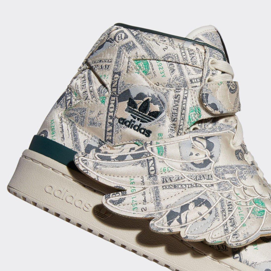 Jeremy Scott adidas Forum Wings 1.0 Money Q46154 Release Date Info