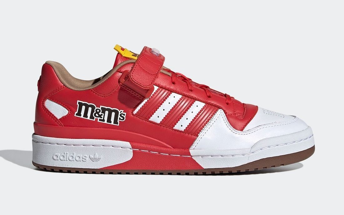 MMs adidas Forum Low Red GZ1936 Release Date Info