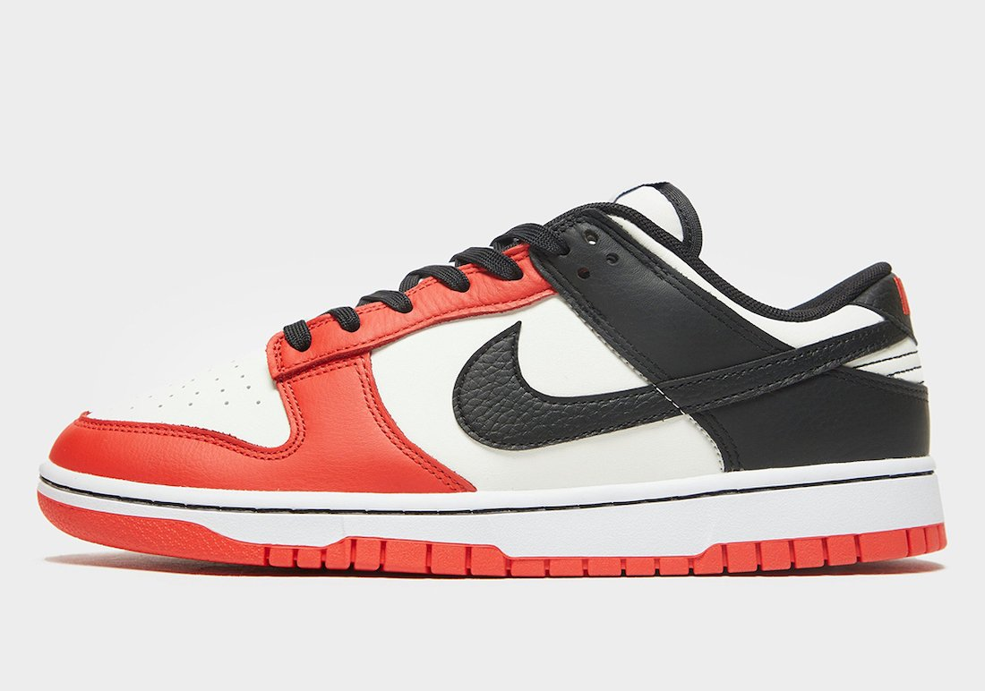 NBA Nike Dunk Low EMB Chicago DD3363-100 Release Date