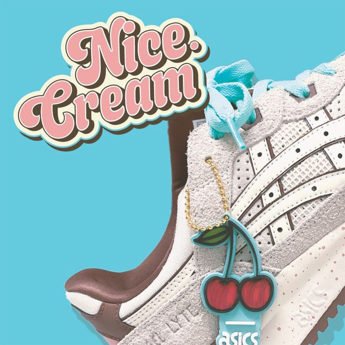 Nice Kicks Asics Gel Lyte III OG Nice Cream Release Date Info