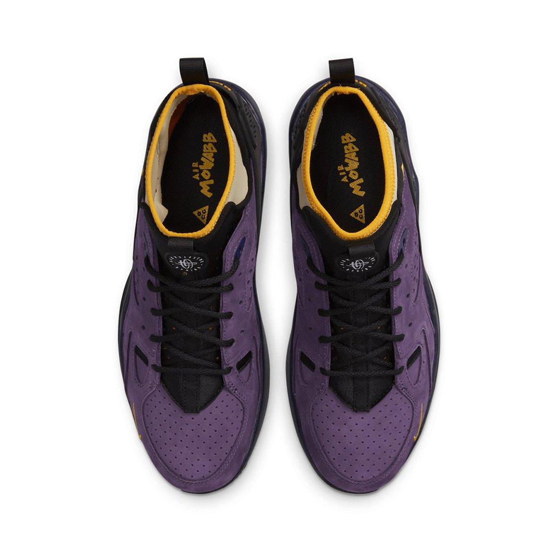 Nike ACG Air Mowabb Gravity Purple DC9554-500 Release Date Info