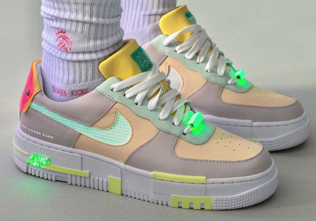 nike air force 1 pixel have a good game DO2330 511 release date