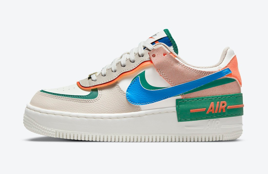 Nike Air Force 1 Shadow First Use CI0919-109 Release Date Info