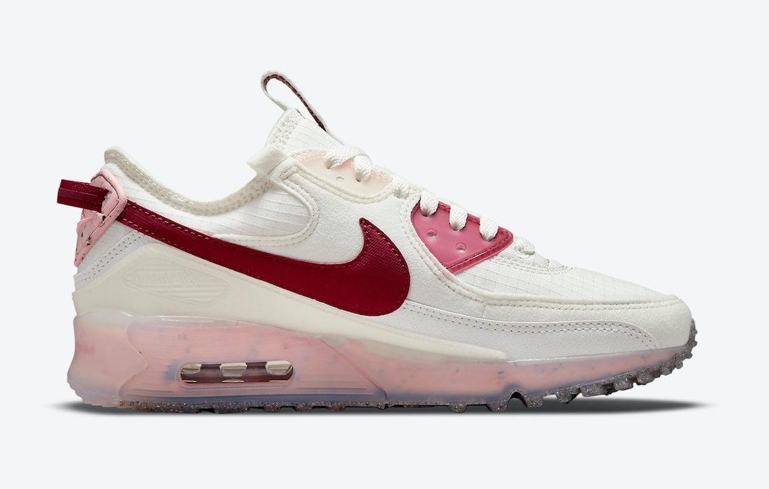 Nike Air Max 90 Terrascape Pomegranate Pink Glaze DC9450-100 Release Date Info