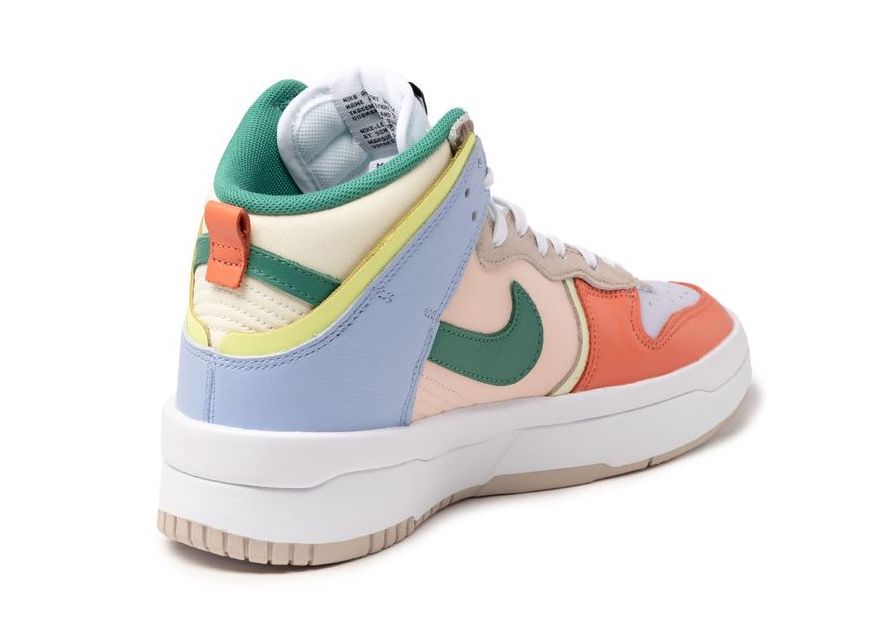 Nike Dunk High Rebel Cashmere Green Noise Pale Coral DH3718-700 Release Date Info