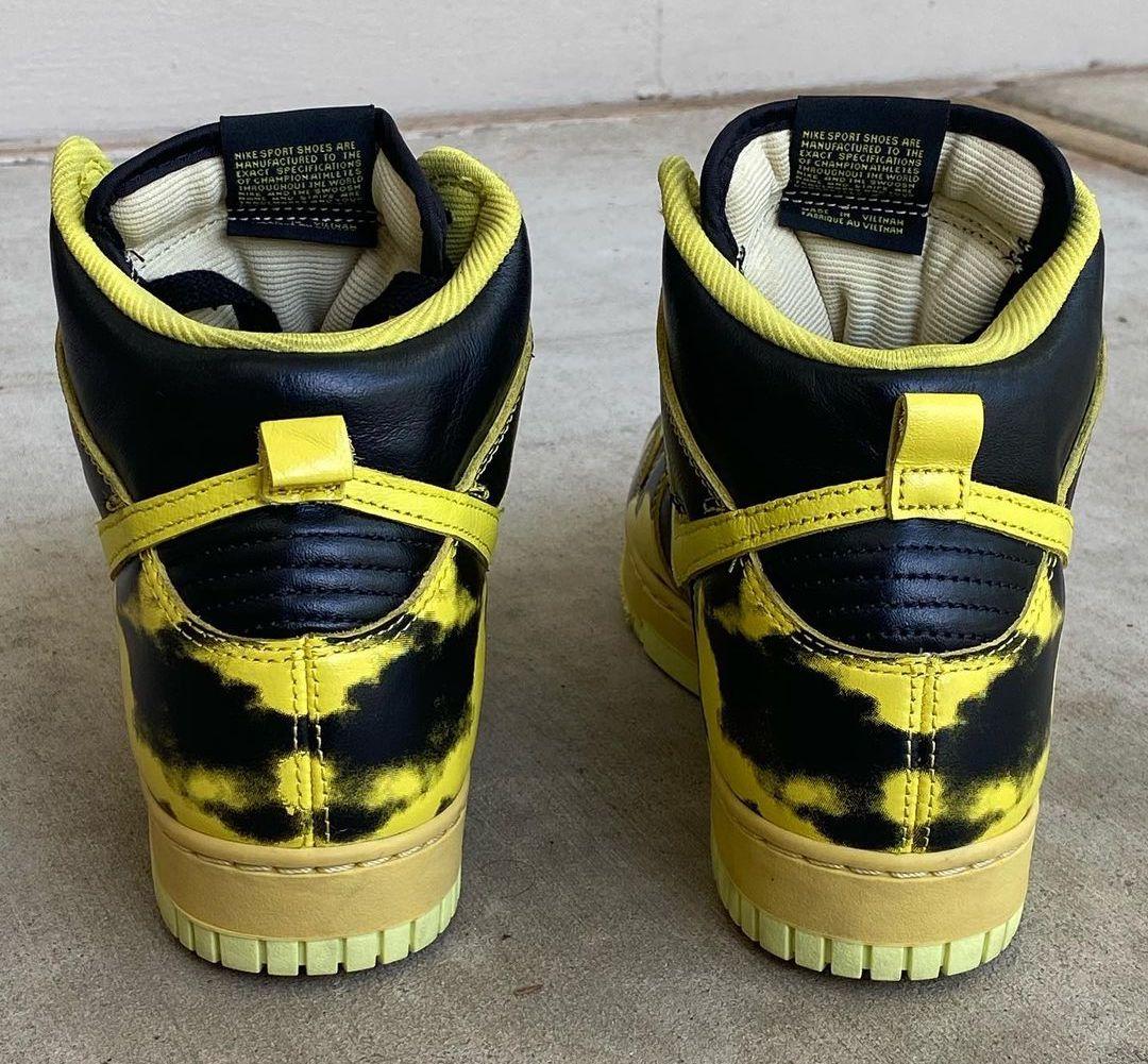 Nike Dunk High Yellow Acid Wash DD9404-001 Release Date Info