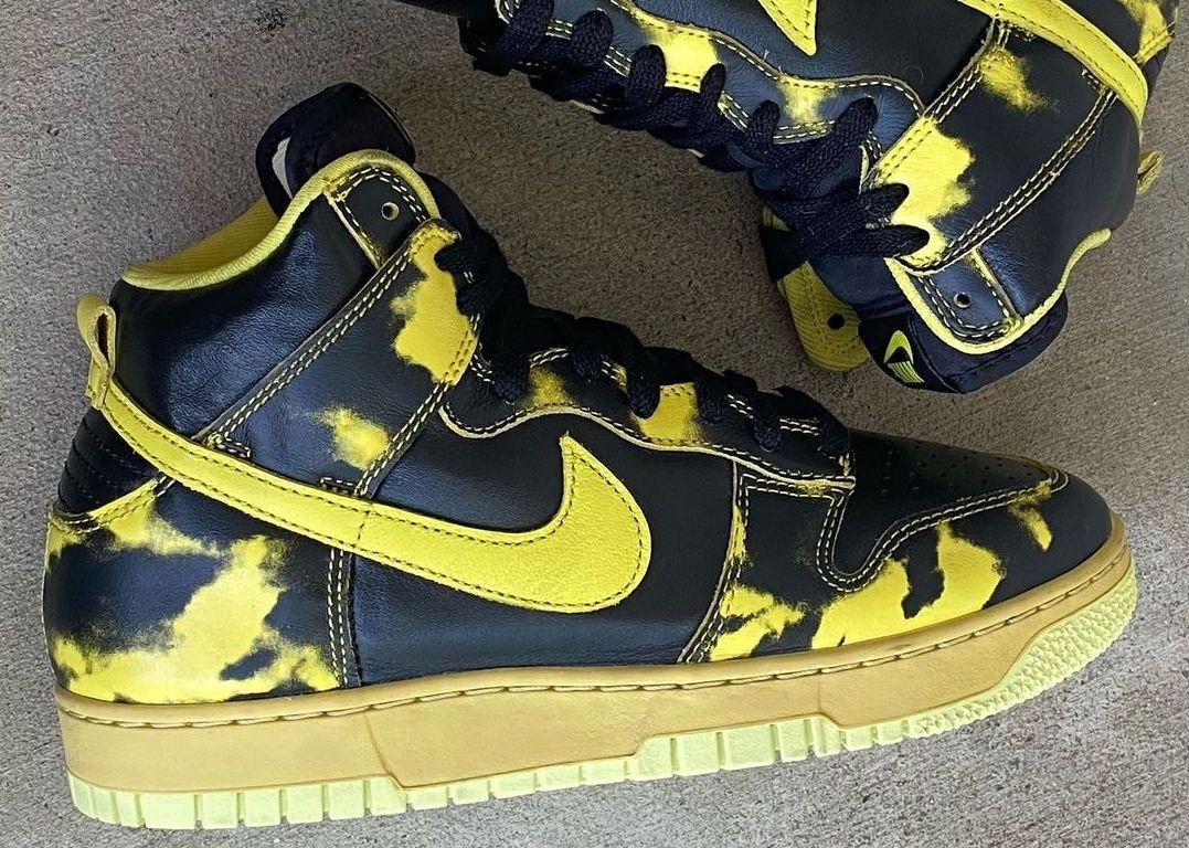 Nike Dunk High Yellow Acid Wash DD9404-001