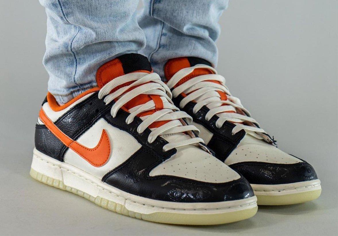 Nike Dunk Low Halloween DD3357-100 On-Feet