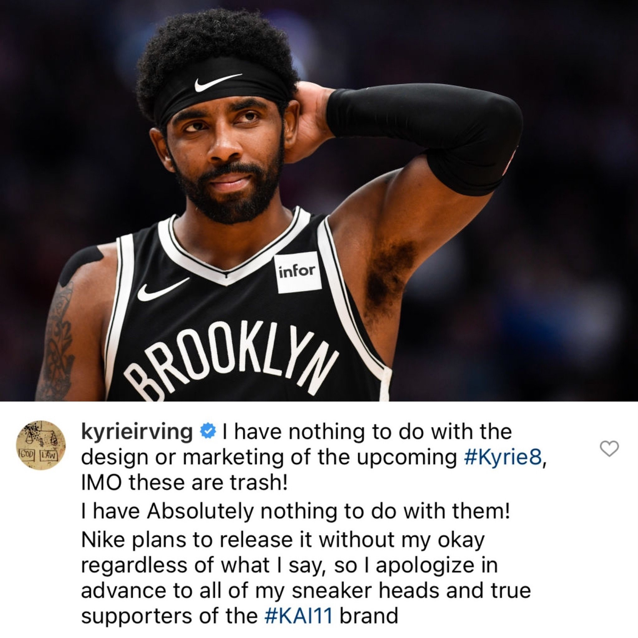 Nike Kyrie 8 Trash