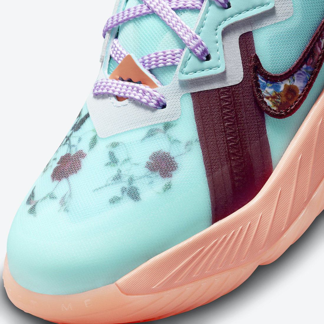 nike lebron 18 low gs floral dn4177 400 release date info 6