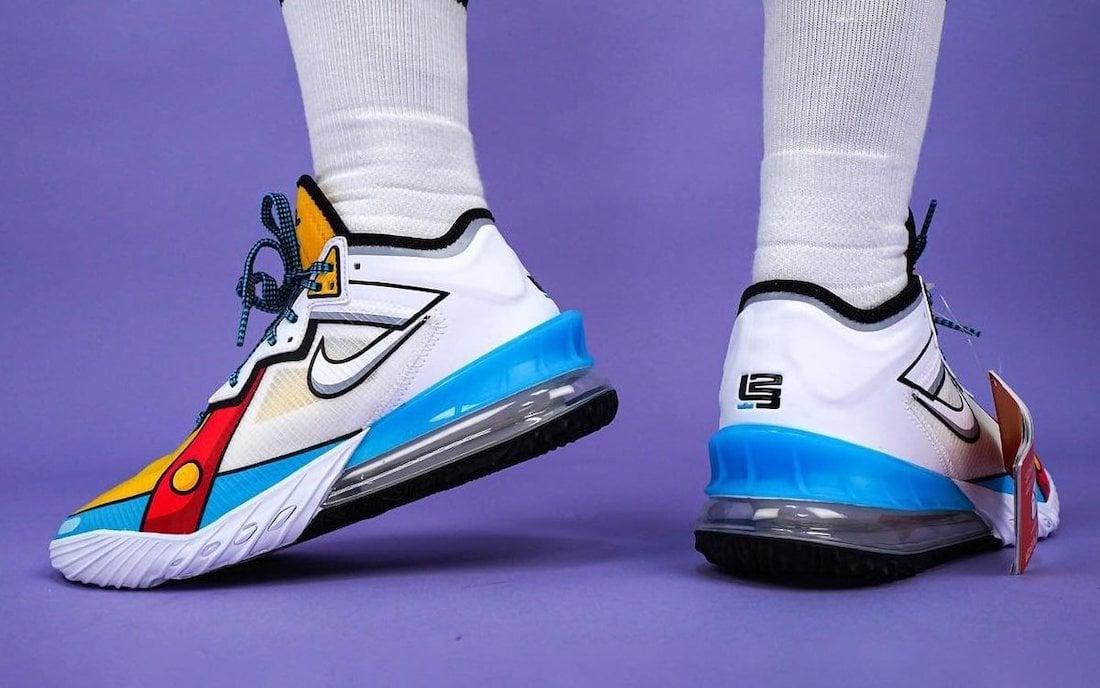 Nike LeBron 18 Low Stewie Griffin Release Date Info