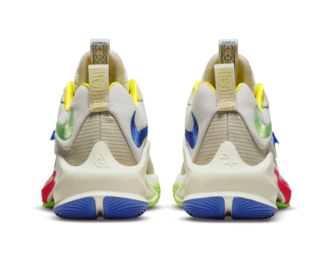 Nike Zoom Freak 3 Primary Colors DA0695-100 Release Date Info