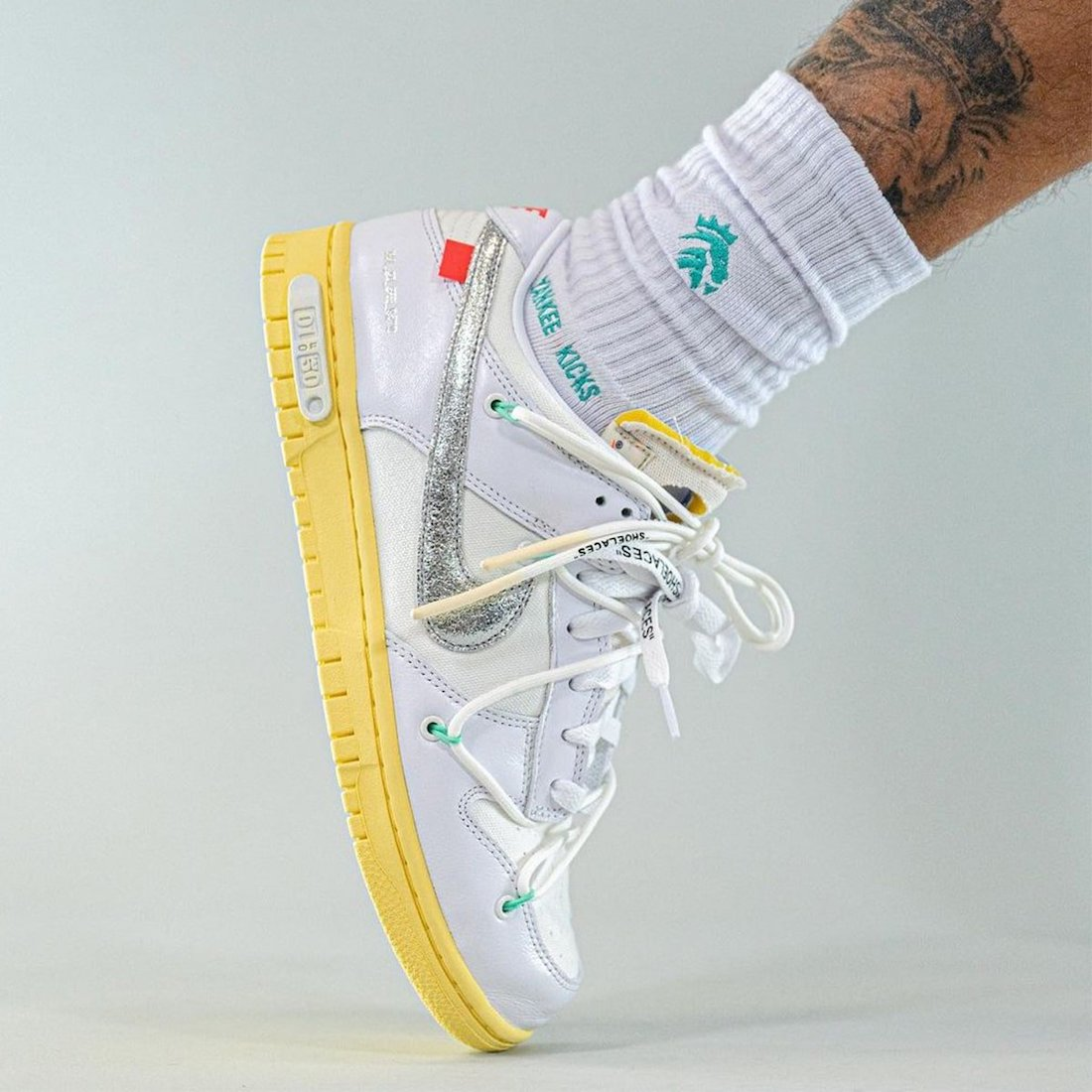Off-White Nike Dunk Low Lot 1 On-Feet