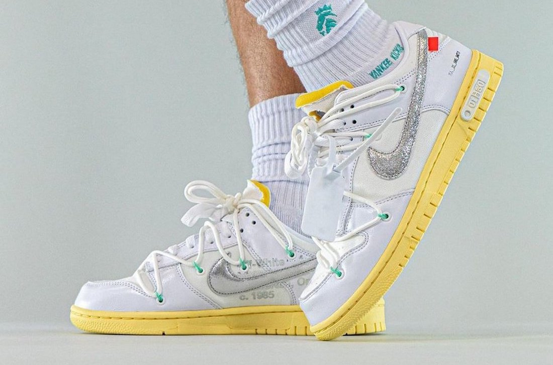 Off-White Nike Dunk Low Lot 1