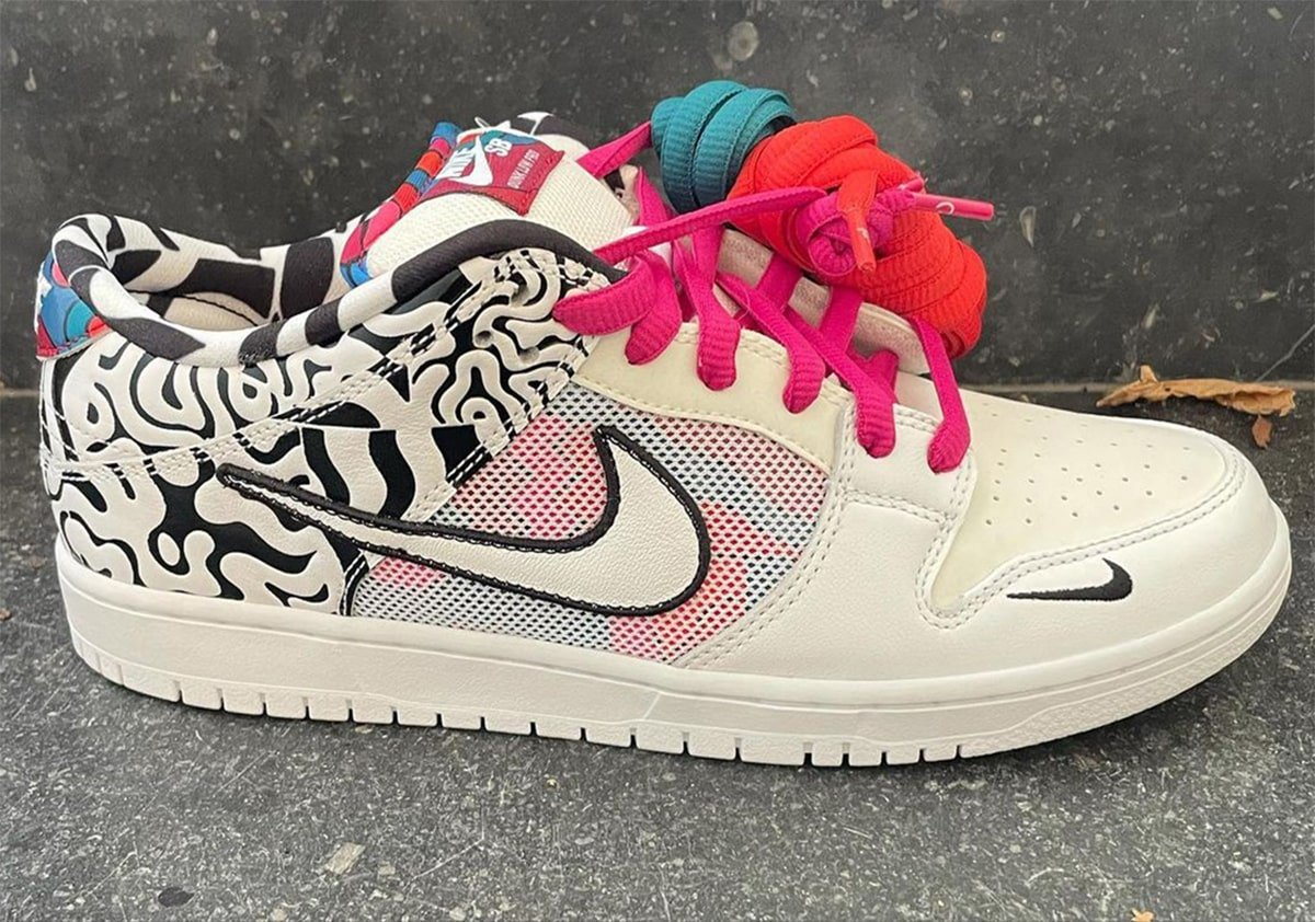 Parra Nike SB Dunk Low Samples