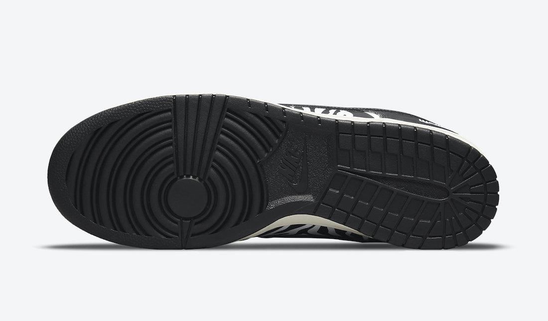 Quartersnacks Nike SB Dunk Low Zebra DM3510-001 Release Date