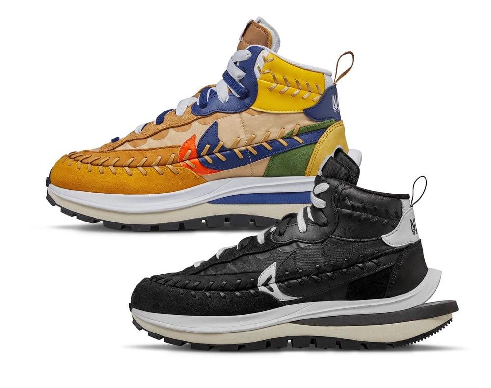 Sacai Jean Paul Gaultier Nike VaporWaffle Release Info