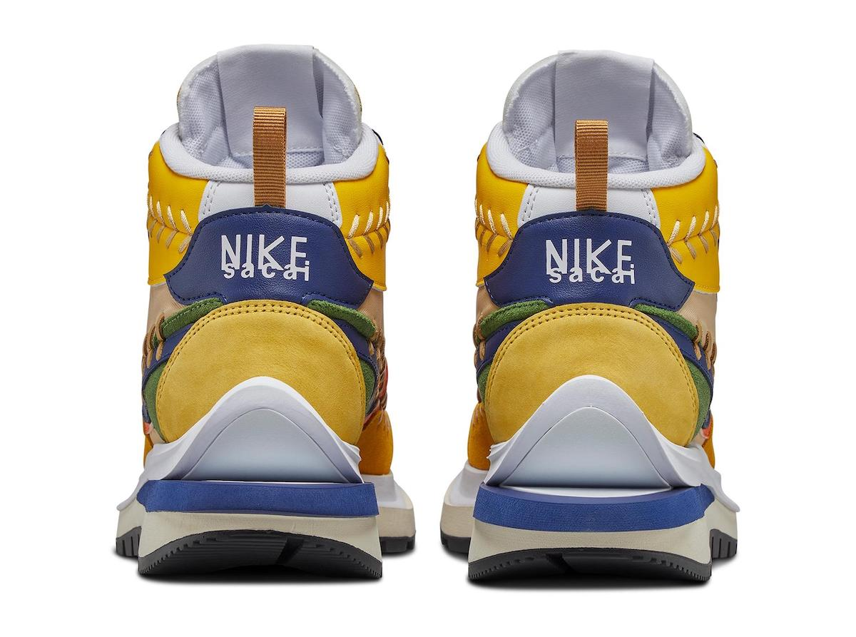 Sacai Jean Paul Gaultier Nike VaporWaffle Sesame DH9186-200 Release Info Price