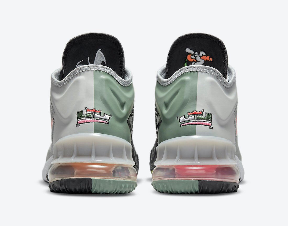 Space Jam Nike LeBron 18 Low Bugs Bunny Marvin The Martian CV7562-005 Release Date Info
