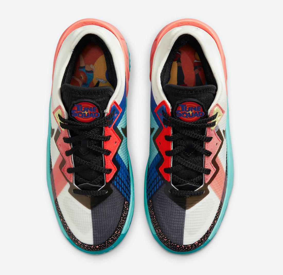 Space Jam Nike LeBron 18 Low Lola Bunny DJ3760-115 Release Date Info