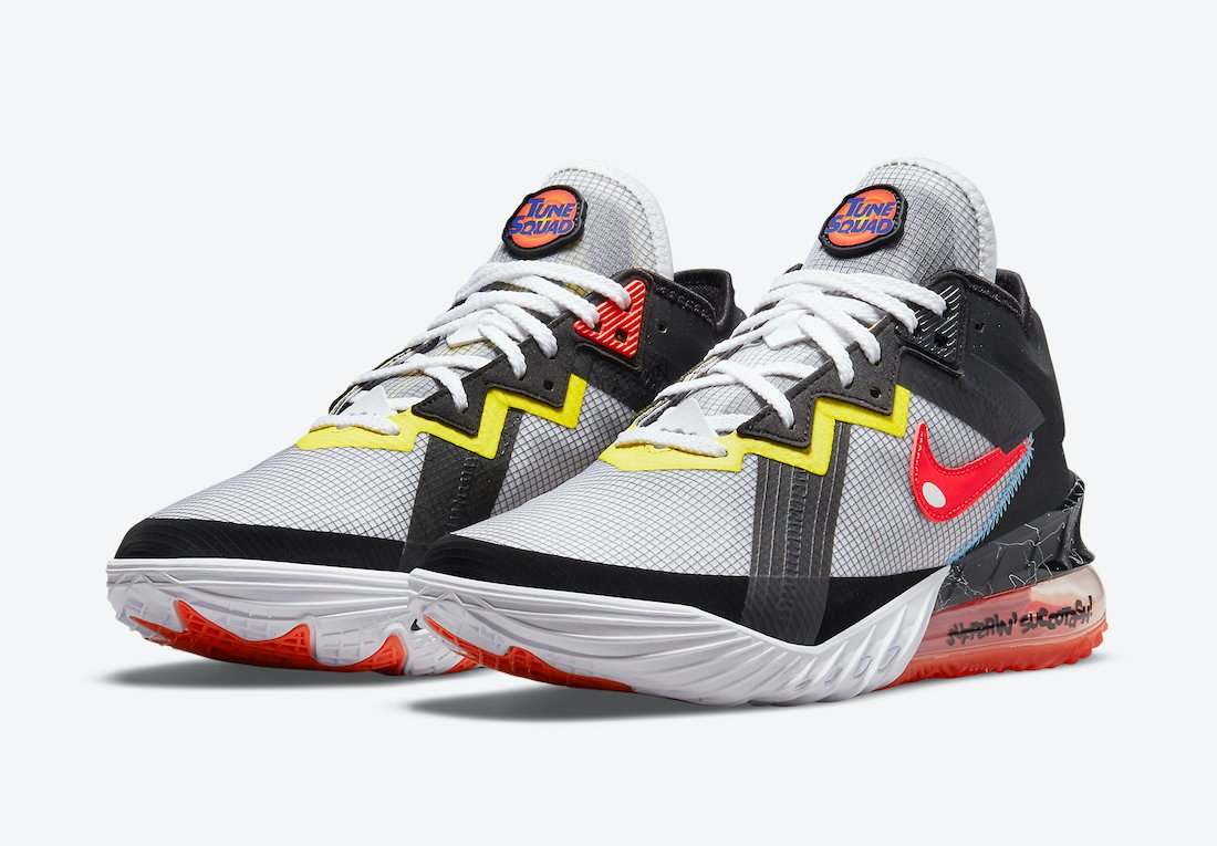 Space Jam Nike LeBron 18 Low Sylvester Tweety CV7562-103 Release Date Info
