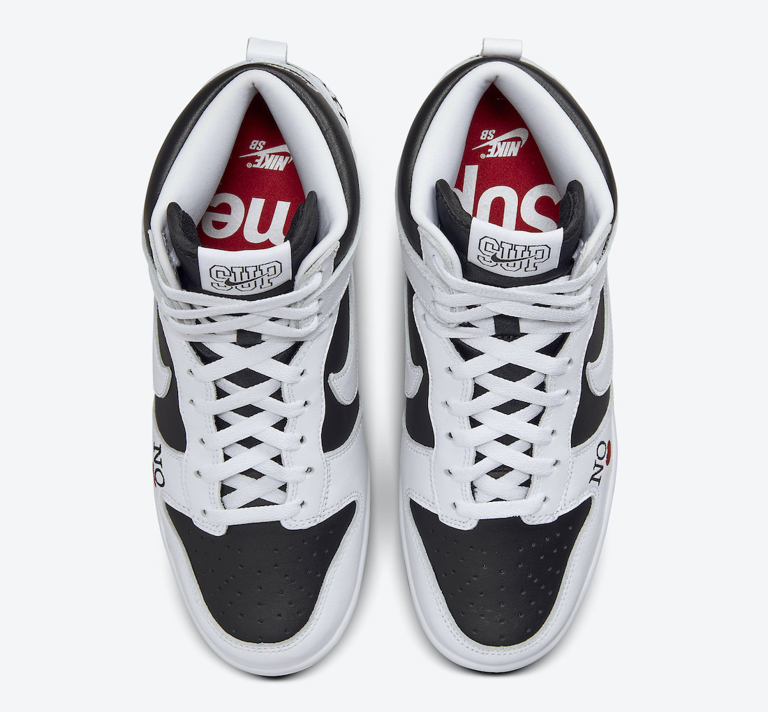 Supreme Nike SB Dunk High By Any Means DN3741-002 Release Date