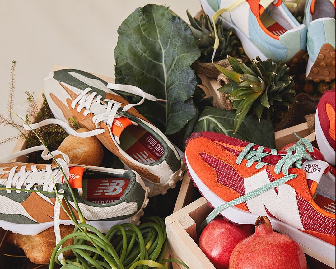 Todd Snyder New Balance 327 Farmers Market Pack