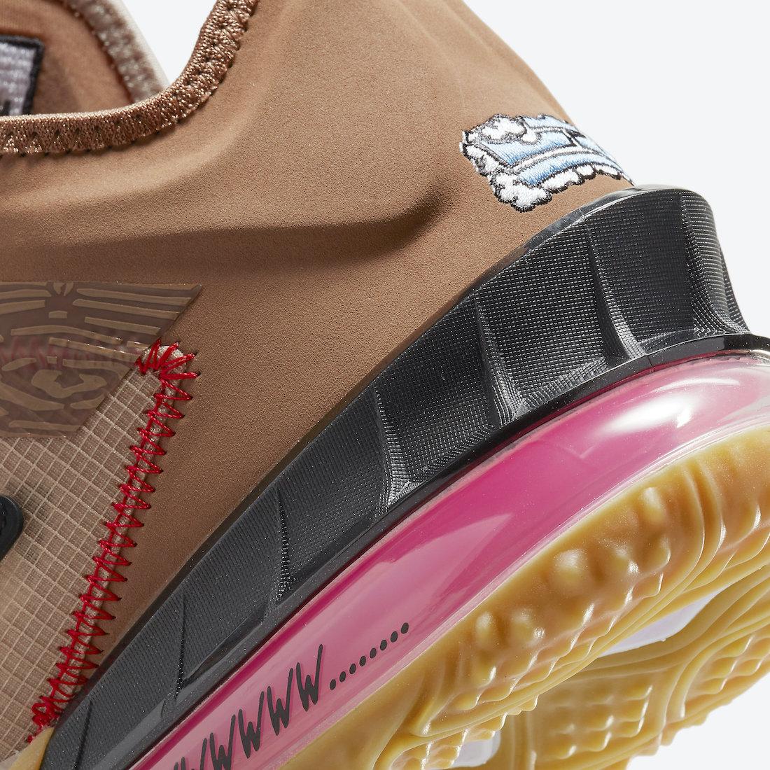Xbox Nike LeBron 18 Low Wile E. Roadrunner DO7172-900 Release Date Info