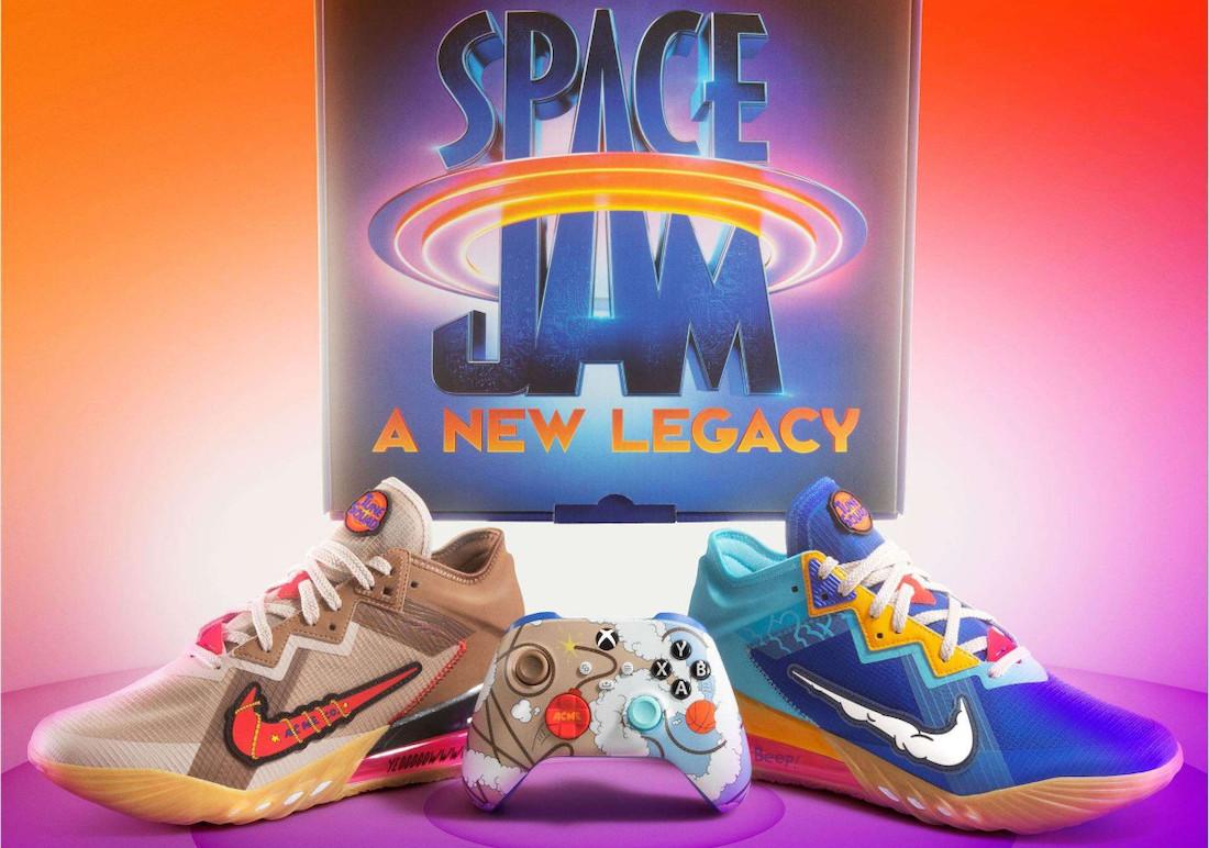 Xbox Nike LeBron 18 Low Wile E. Roadrunner