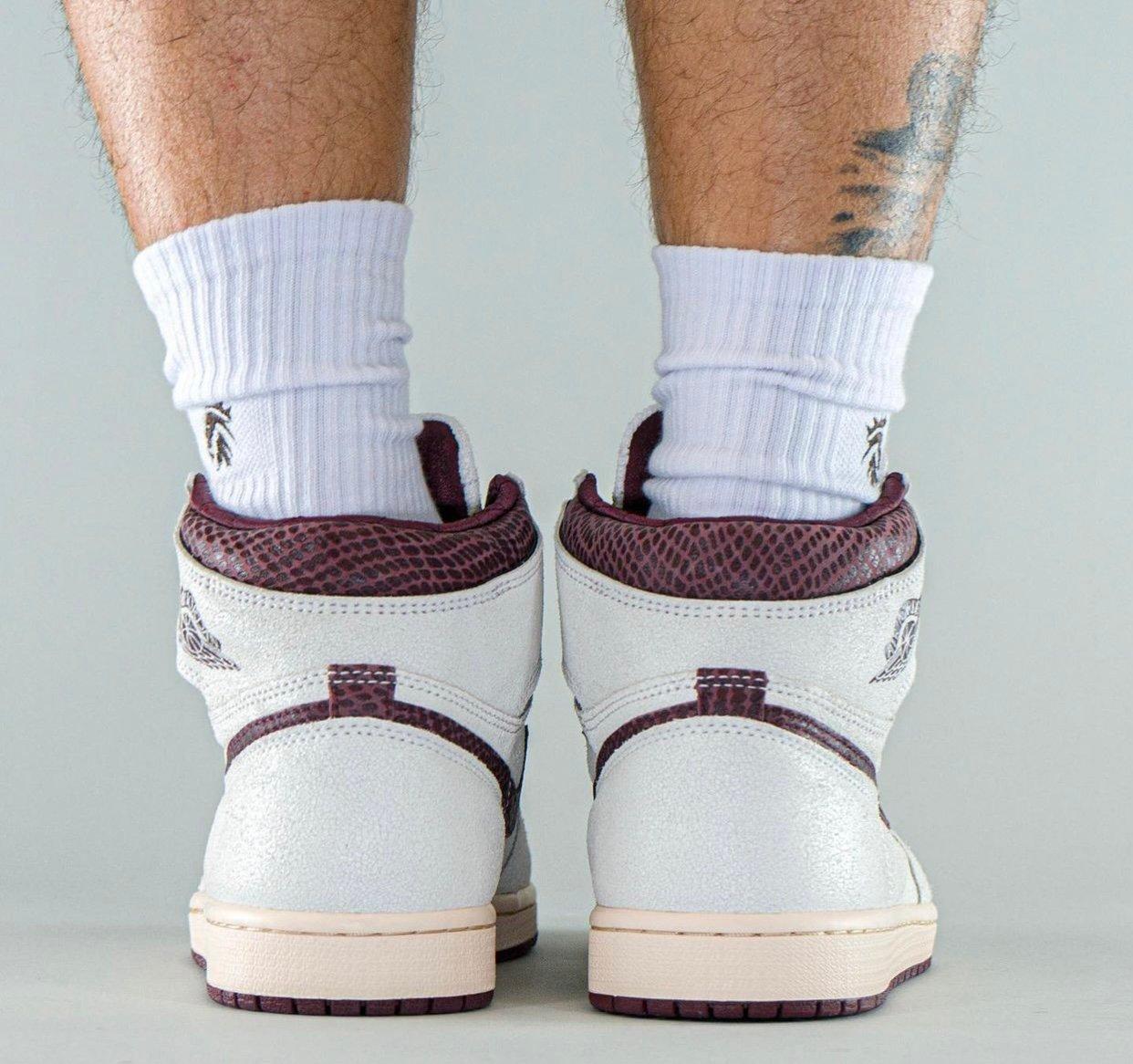 A Ma Maniere Air Jordan 1 DO7097-100 On-Feet