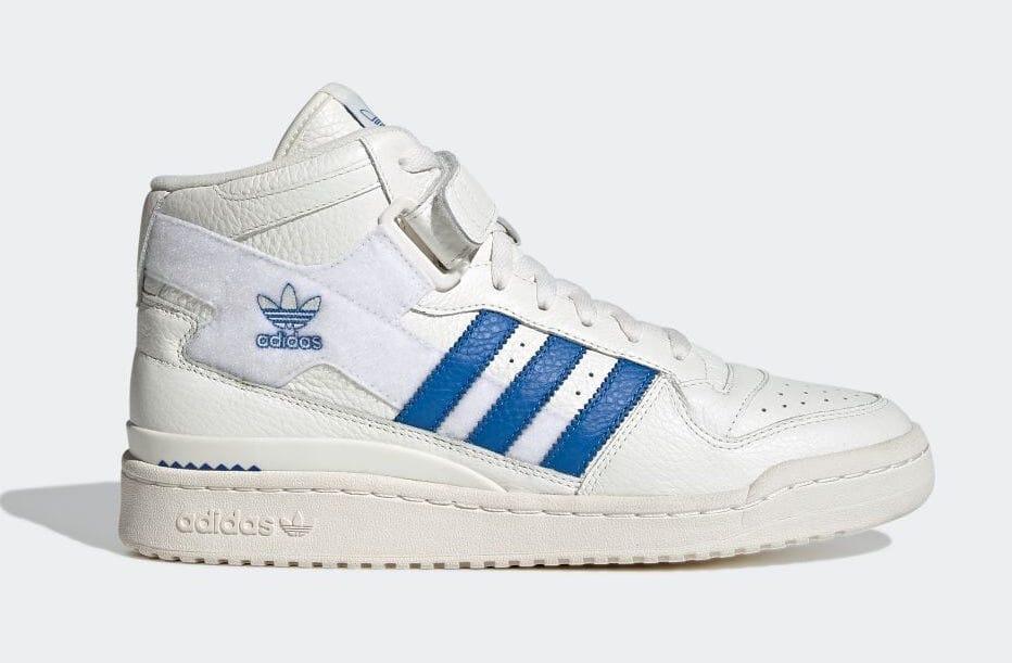 adidas Forum Mid White Blue Bird GX1021 Release Date Info