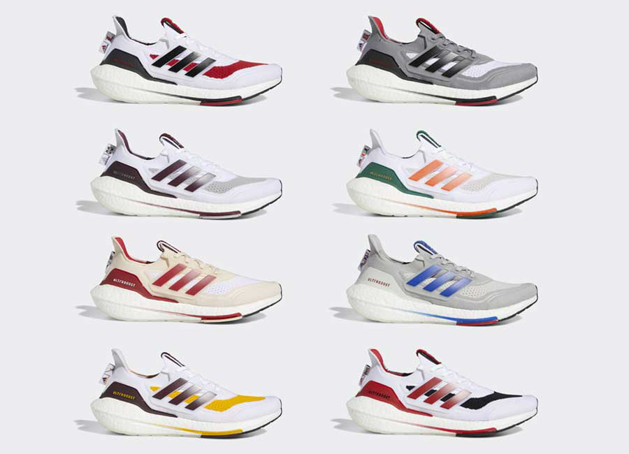 adidas Ultra Boost 2021 NCAA Pack Release Date Info