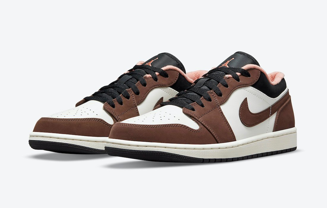 Air Jordan 1 Low Brown Pink DC6991-200 Release Date Info