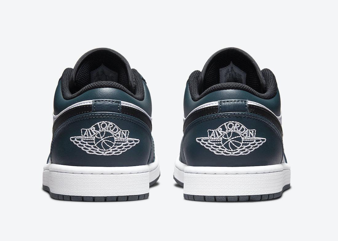 Air Jordan 1 Low Dark Teal 553558-411 Release Date Info
