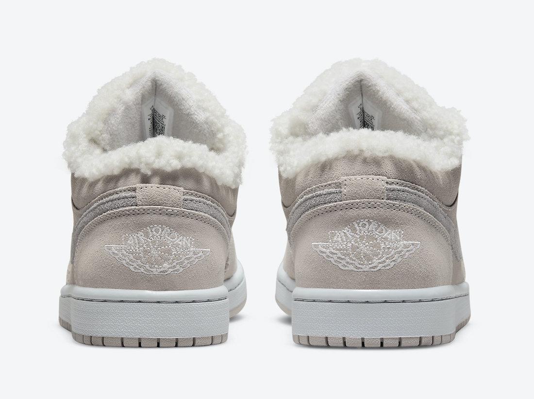 Air Jordan 1 Low Sherpa Fleece DO0750-002 Release Date Info