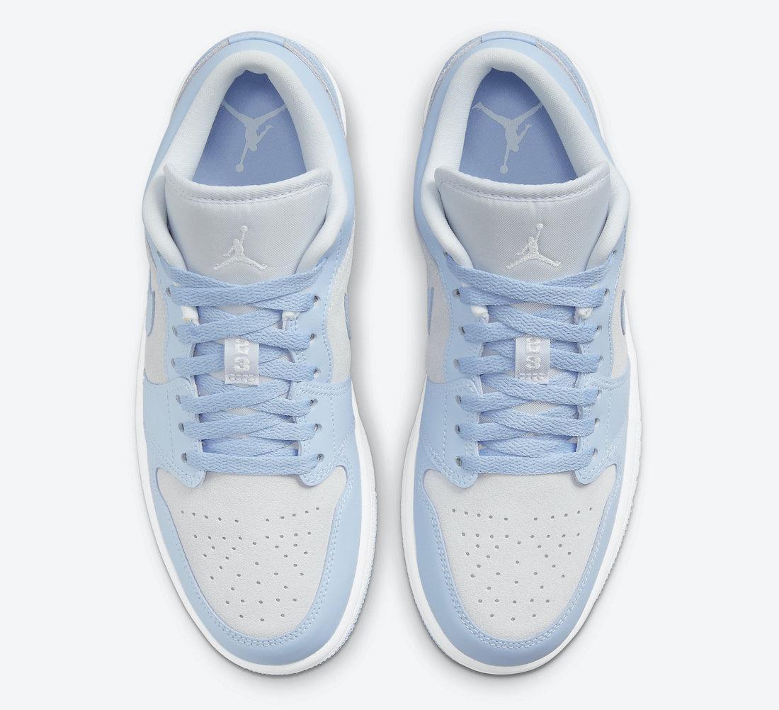 Air Jordan 1 Low University Blue WMNS DC0774-050 Release Date Info