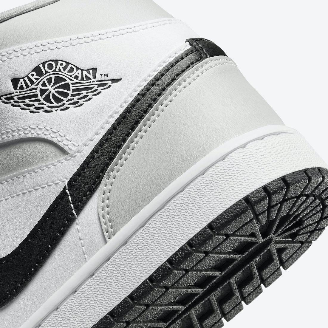 Air Jordan 1 Mid Light Smoke Grey WMNS BQ6472-015 Release Date Info