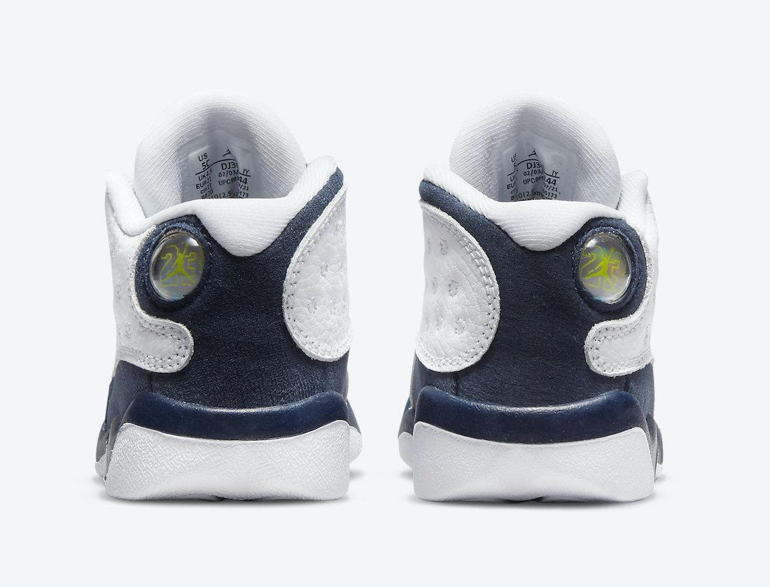 Air Jordan 13 Obsidian Dark Powder Blue Toddler DJ3004-144 Release Date