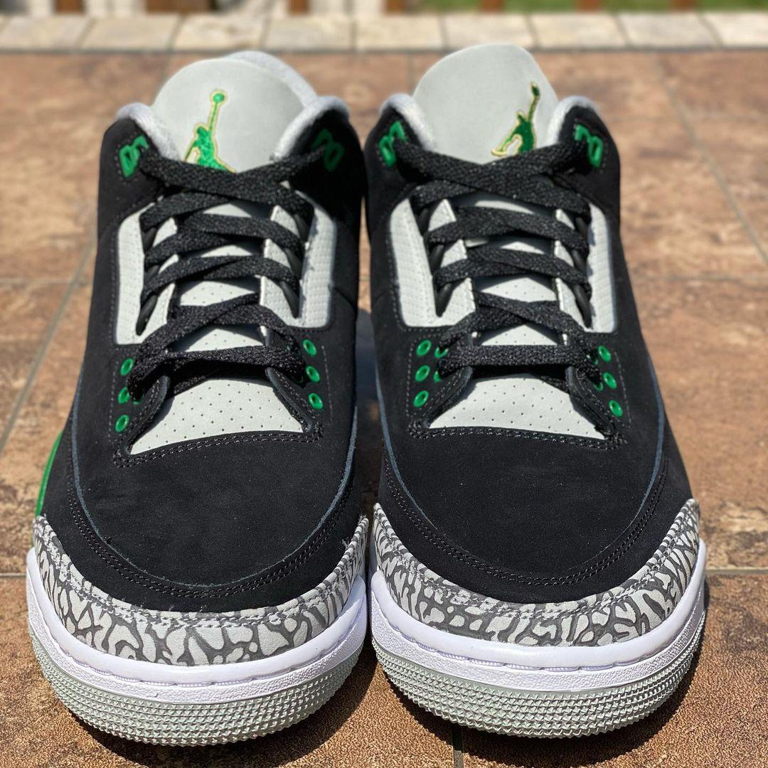 Air Jordan 3 Black Pine Green CT8532-030 Release Info