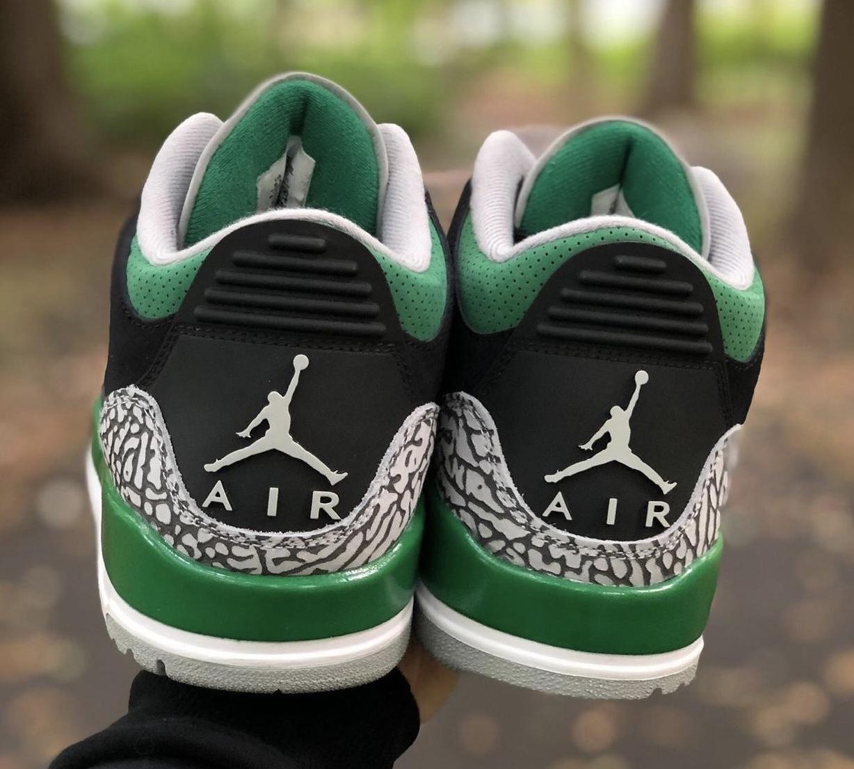 Air Jordan 3 Pine Green CT8532-030 Release Info