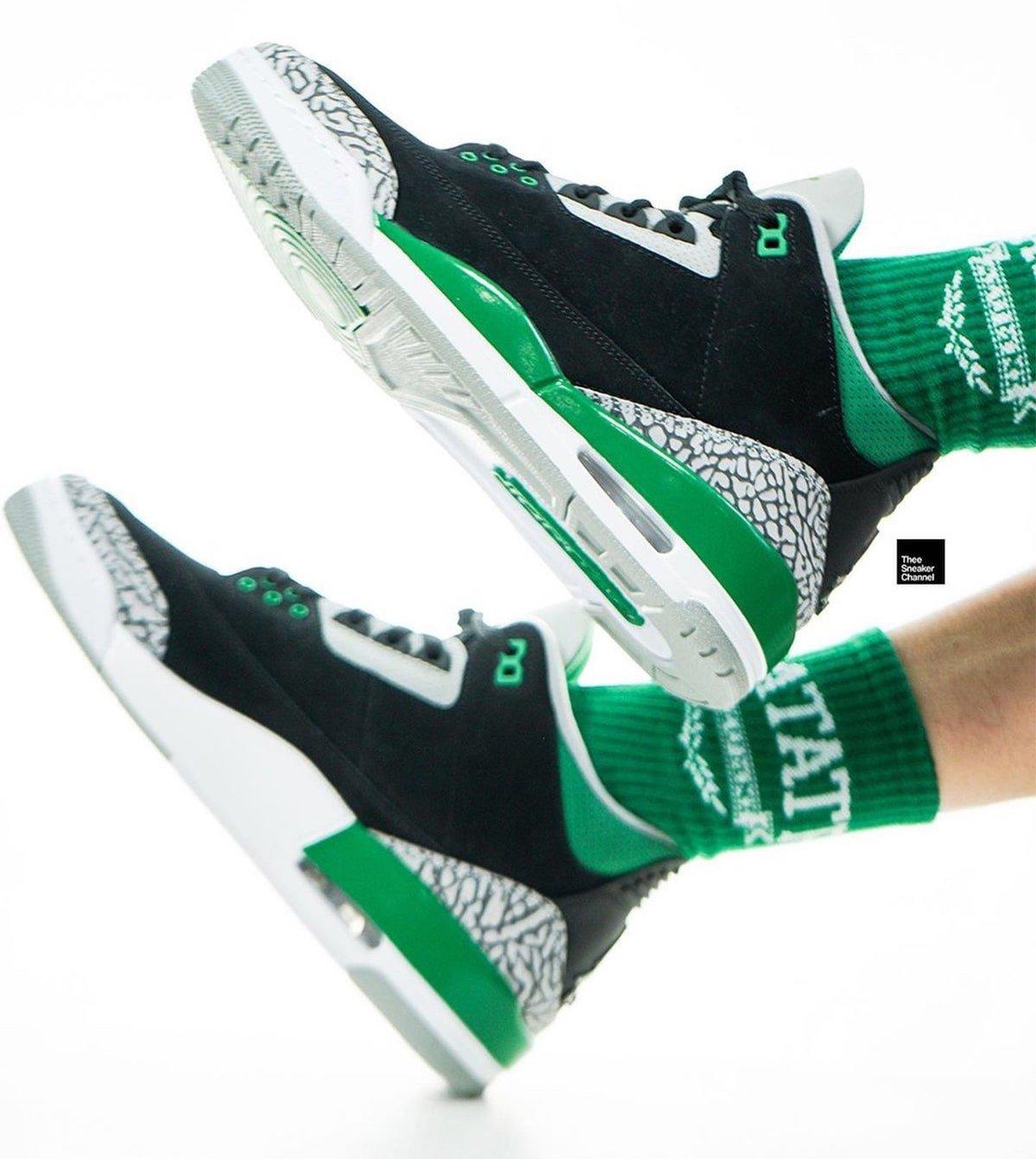 Air Jordan 3 Pine Green Release Date CT8532-030