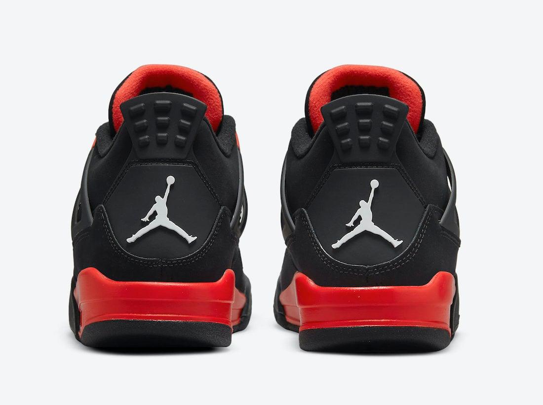 Air Jordan 4 Red Thunder GS 408452-016 Release Date
