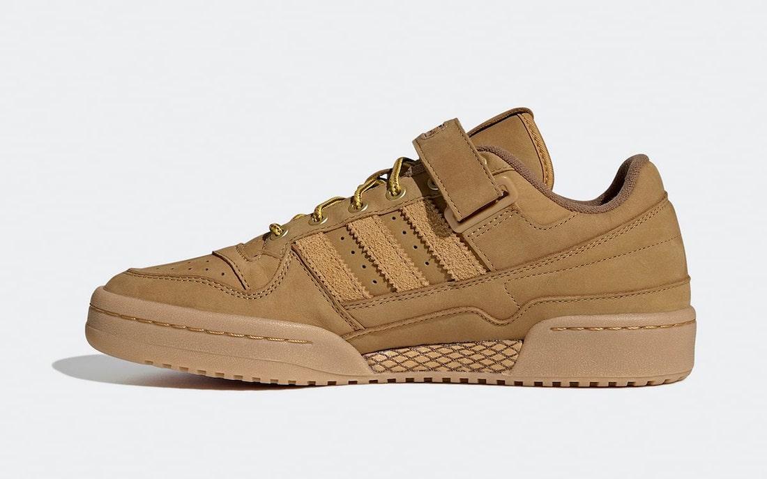 atmos adidas Forum Low Wheat GX3953 Release Date Info