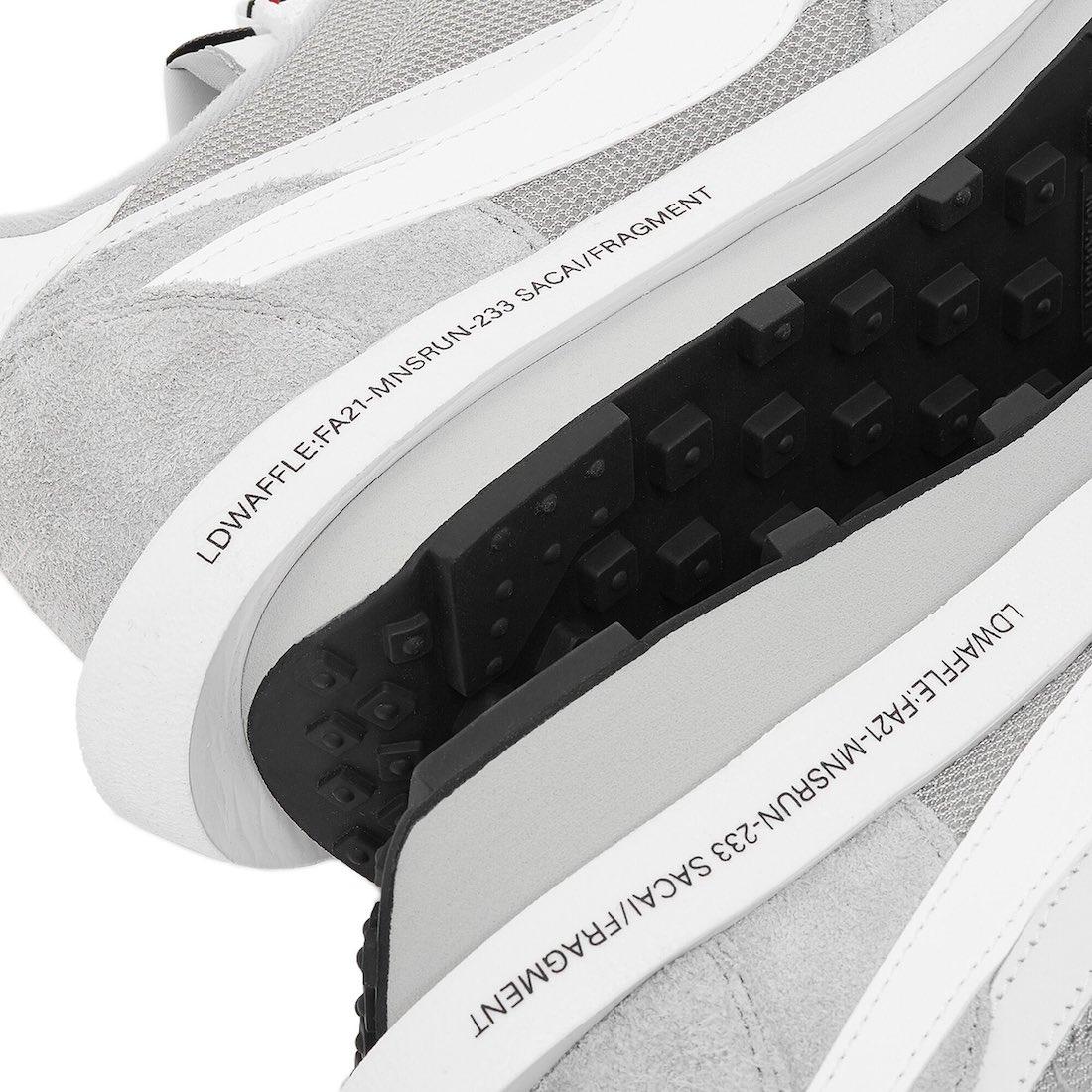 Fragment Sacai Nike LDWaffle Wolf Grey DH2684-001
